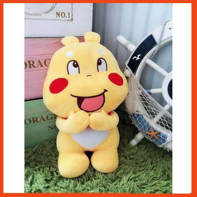 Gấu Bông Sticker Qoobee Cao Cấp Size Siêu Dễ Thương - Thú nhồi bông sticker Qoobee