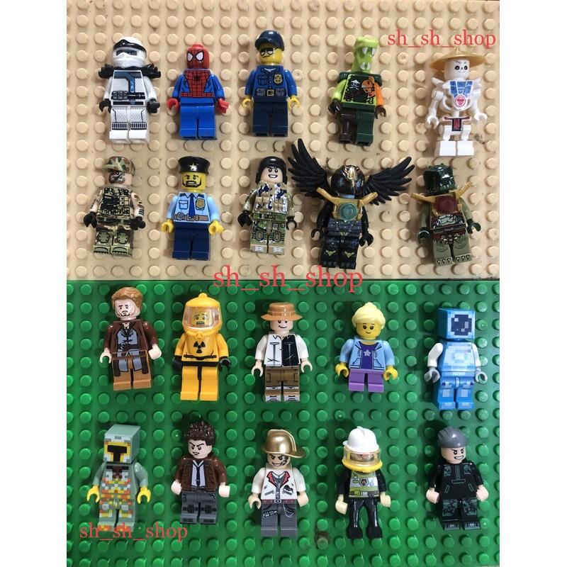 NHÂN VẬT MINIFIGURE – ĐỒ CHƠI LẮP RÁP XẾP HÌNH PHỤ KIỆN LEGO