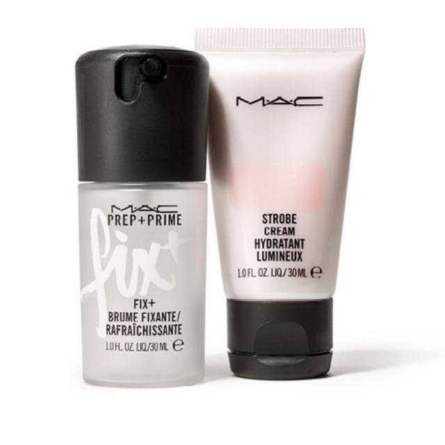 MAC - Bộ trang điểm mini gồm 1 xịt makeup 30ml + 1 kem lót 30ml