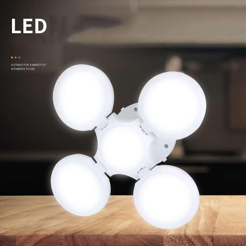 [Giá sốc]Bóng đèn tích điện 5 cánh, 5 chế độ sáng có móc treo