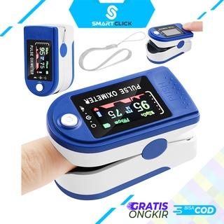 Máy đo Oxymeter ngón tay SPO2 LCD đủ màu 100% chính hãng thumbnail