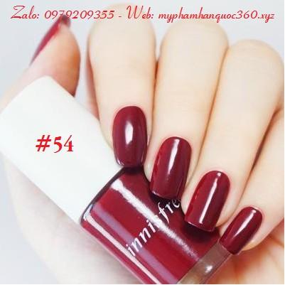 Sơn Móng Tay – Innisfree Real Color Nail - Màu số 54