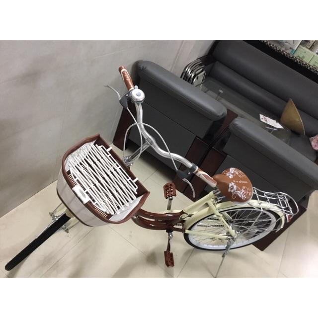 Xe đạp thời trang nữ 24 inch Dinhu hàng nhập khẩu