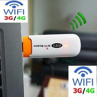 Wifi Modem KHÔNG DÂY HSPA thiết bị phát wifi từ sim 3G, 4G lấy nguồn từ bất kỳ cổng usb nào. thumbnail