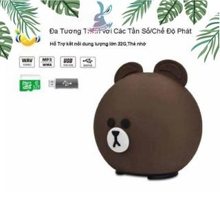Giá Sốc Stoy Loa Bluetooth Hoạt Hình Gấu, Heo, Thỏ Dễ Thương Âm Thanh Lớn Nhỏ Gọn Dễ Cầm Theo