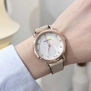 Đồng hồ nữ Doukou dây da thời trang mềm mại ôm tay thumbnail
