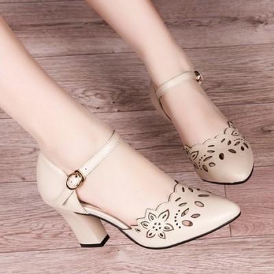 Giày cao gót laze hoa cg405