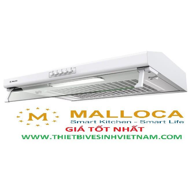 Máy hút khử mùi cao cấp Malloca H107W classic, bảo hành chính hãng 03 năm