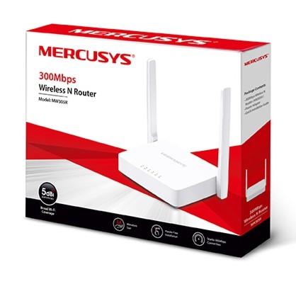 Bộ phát wifi Mercusys MW305R 2 râu tốc độ 300Mbps Giá chỉ 152.000₫