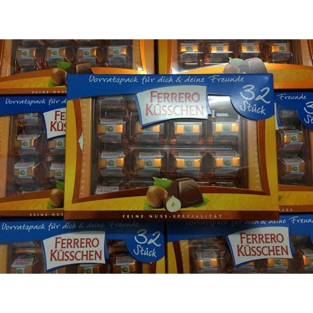 Kẹo socola Ferrero Kusschen - 2824260 , 844792306 , 322_844792306 , 280000 , Keo-socola-Ferrero-Kusschen-322_844792306 , shopee.vn , Kẹo socola Ferrero Kusschen