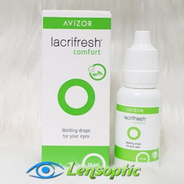 [Mã COSHOT7 hoàn 8% xu đơn 250K] [10 TẶNG 1] Nước nhỏ mắt Avizor Lacrifresh Comfort