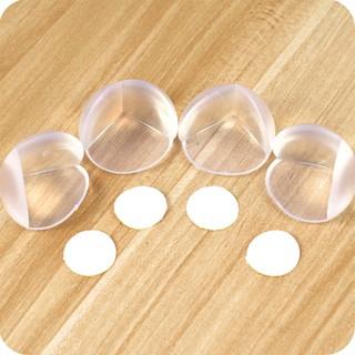 Bịt góc bàn silicon 3 mặt an toàn cho trẻ nhỏ dáng tròn bọc cạnh tủ kệ giường mọi kích cỡ youngcityshop 30.000