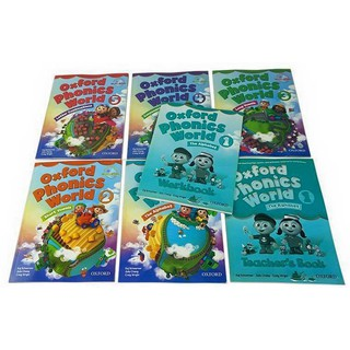 Đồ chơi – OXFORD PHONICS WORLD LEVEL 1-5