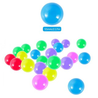 50X Seven colors Toy Ball Swimming Pool Ball Non-toxic For Children Play Best