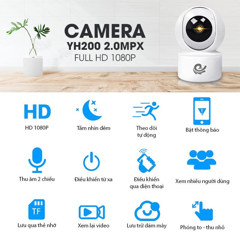 [CARECAM] CAMERA WIFI CARECAM CC2020 2.0MPX FULL HD 1080P-CÓ KÈM THẺ NHỚ