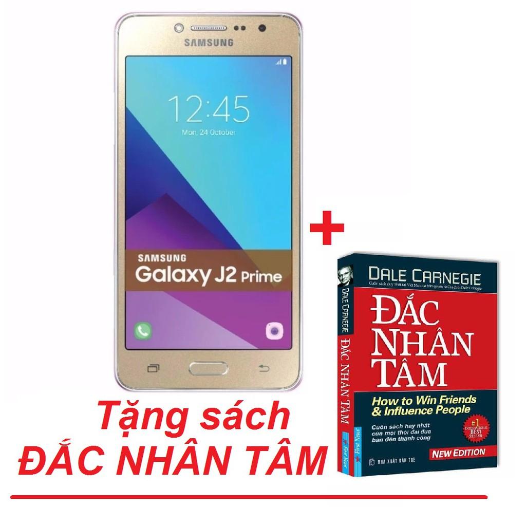 Điện thoại Samsung Galaxy J2 Prime + Tặng kèm sách Đắc Nhân Tâm - Hàng phân phối chính hãng - 3439982 , 519965436 , 322_519965436 , 2690000 , Dien-thoai-Samsung-Galaxy-J2-Prime-Tang-kem-sach-Dac-Nhan-Tam-Hang-phan-phoi-chinh-hang-322_519965436 , shopee.vn , Điện thoại Samsung Galaxy J2 Prime + Tặng kèm sách Đắc Nhân Tâm - Hàng phân phối chính