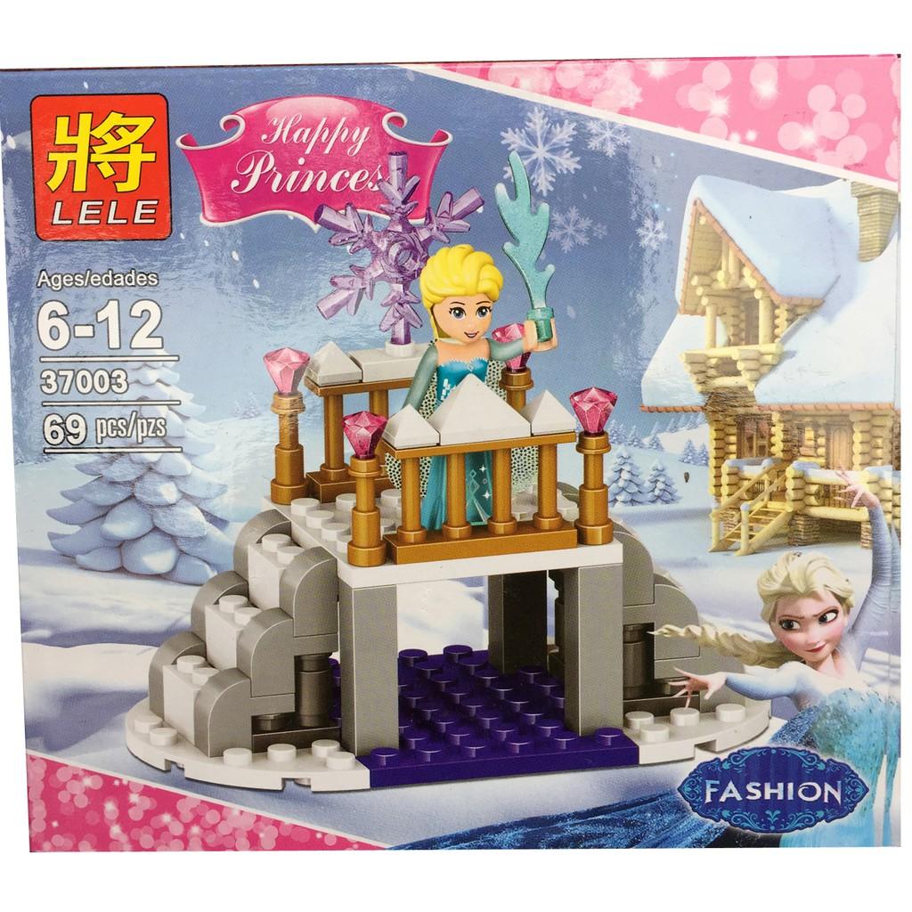 Lego xếp hình Elsa trên cầu 69 chi tiết (1 trong bộ 4 hộp)
