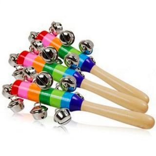 [KM]_ Cây đồ chơi nhiều màu và có chuông cho bé