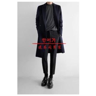 Áo khoác dạ nam Hàn Quốc cao cấp lông cừu tại Hà Nội