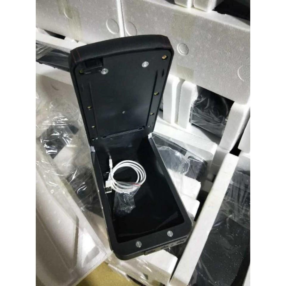 [HOT] Hộp Tỳ Tay Mitsubishi Attrage và Mitsubishi Mirage Kèm 7 Cổng USB Đa Năng