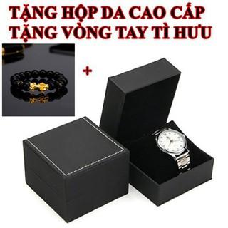 [Hàng cao cấp] Đồng hồ nam R-L S-38mm đính viền đá dây kim loại đúc đặc cao cấp bảo hành 12 tháng donghosieucap