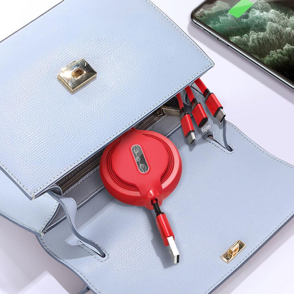 Dây Cáp Sạc Dữ Liệu Micro Usb Loại C 3a Cho Điện Thoại / Máy Tính Bảng