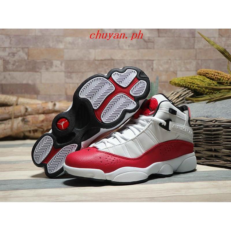 promo code fdd63 0315e COD Nike Air Jordan 6 RINGS AJ6 High-top basketball shoes ...