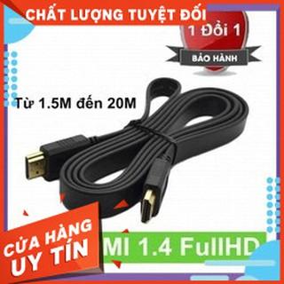 [FREESHIP] CÁP HDMI DẸP DÀI 1.5M ĐẾN 15M CHUẨN FULL HD