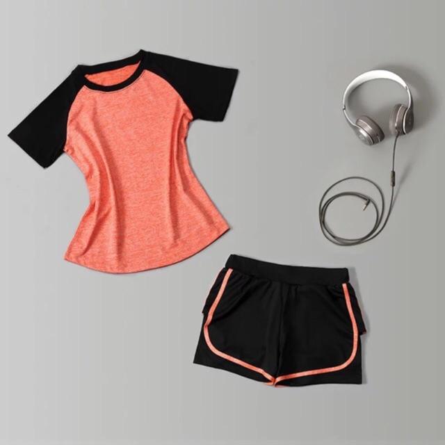 Bộ quần áo tập Gym, Yoga, Aerobic A479
