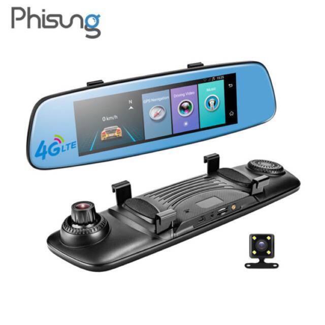 (Tặng thẻ 32GB) Camera hành trình 4G GPS Phisung E06