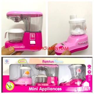 Hộp đồ chơi 3 thiết bị gia dụng nhà bếp dành cho bé