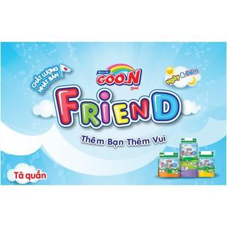 Combo 30 miếng Tã quần Goon Friend hàng tách lẻ S30 M30 XL30 XXL30 thumbnail