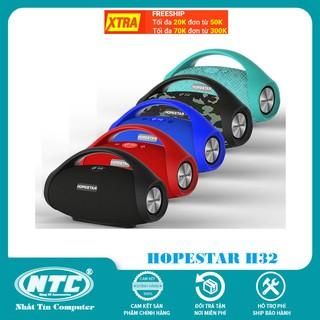 Loa bluetooth cao cấp Hopestar H32 công suất 10W, pin dùng 4H, siêu Bass, IPX6 (5 Màu)
