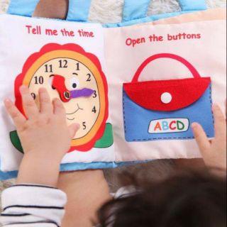 Sách vải kĩ năng cho bé