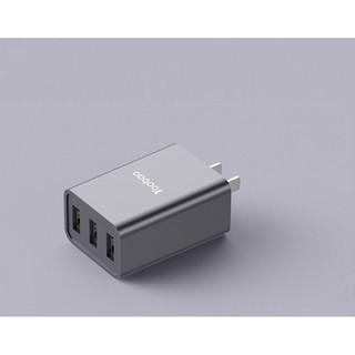 [Mã ELFLASH5 giảm 20K đơn 50K] Cốc sạc 3 cổng USB cho điện thoại, máy tính bảng... YOOBAO 723