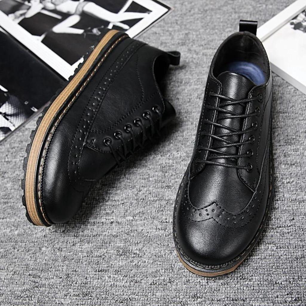 Fashion รองเท้าหนังกลับ รองเท้าผู้ชาย No.712ashion รองเท้าหนังกลับ รองเท้าผู้ชาย No.712