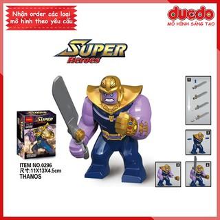 Bigfig THANOS cầm đao thần - Đồ chơi Lắp ghép Xếp hình Mini Minifigures Mô hình Big Fig Super Hero DECOOL 0296 thumbnail
