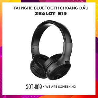 [Mã ELFLASH5 giảm 20K đơn 50K] Tai Nghe Bluetooth Choàng Đầu ZEALOT B19 - Hàng Chính Hãng