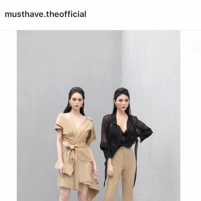 < Thanh lý > áo must have bên trái size L