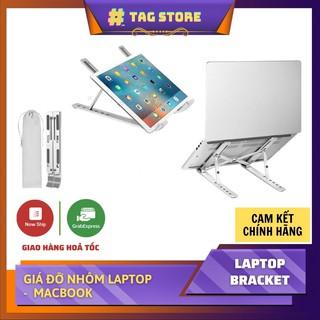 Giá đỡ Laptop – giá kê Laptop MacBook bằng nhôm điều chỉnh độ cao theo nhu cầu sử dụng
