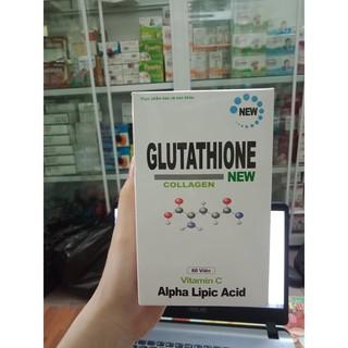 Glutathione new collagen viên uống trắng da lọ 60 viên ái mộ thumbnail