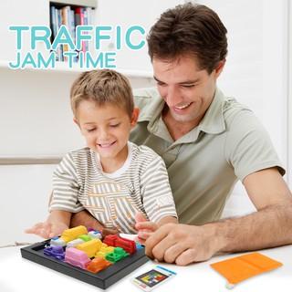 Bộ trò chơi TRAFFIC JAM rèn luyện trí thông minh cho bé trên 3 tuổi