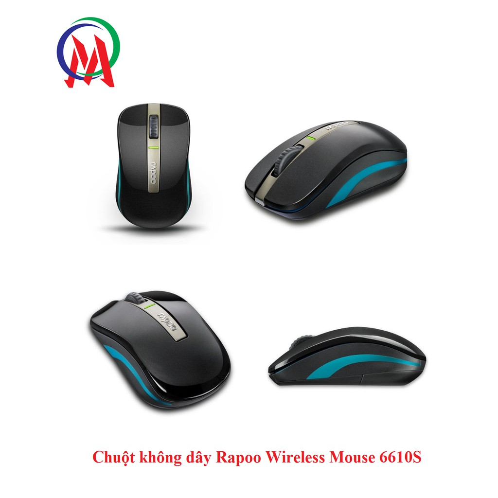 Chuột không dây Rapoo Wireless Mouse 6610S