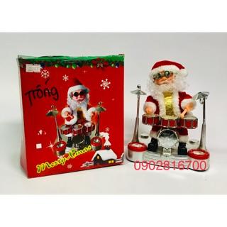 Đồ chơi ông già Noel đánh trống