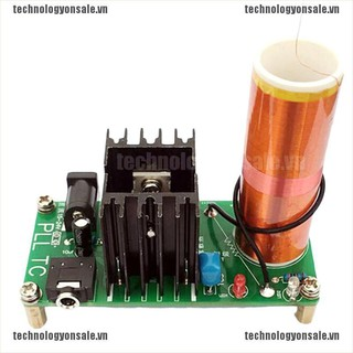 [Tech] Mini Tesla Coil Plasma Speaker Electronic Kit 15W DIY Kits Science Learning Toys [VN]