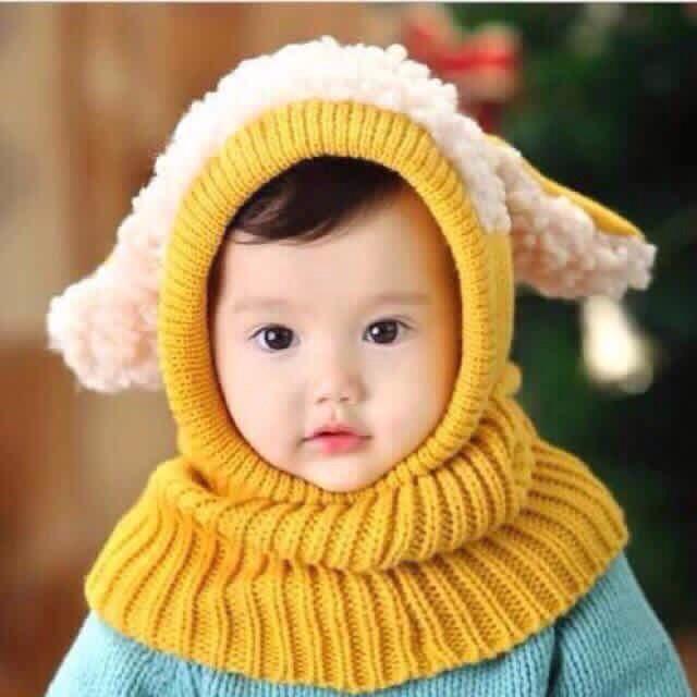 Mũ len tai cừu cho bé - 2698948 , 105270654 , 322_105270654 , 55000 , Mu-len-tai-cuu-cho-be-322_105270654 , shopee.vn , Mũ len tai cừu cho bé