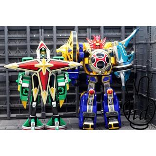 Thanh lý 2 em DX Senpujin và Tenkujin siêu nhân cuồng phong – chính hãng Bandai