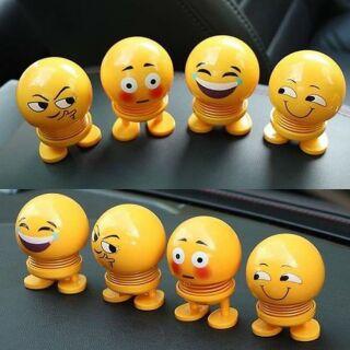 COMBO 10 con lắc lò xo emoji ko đèn