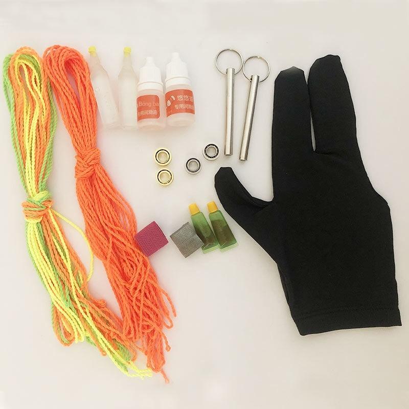 Yo -Phụ kiện có độ chính xác cao Vòng bi KK Yo-Yo Bộ dây Găng tay Bôi trơn Trục Kéo