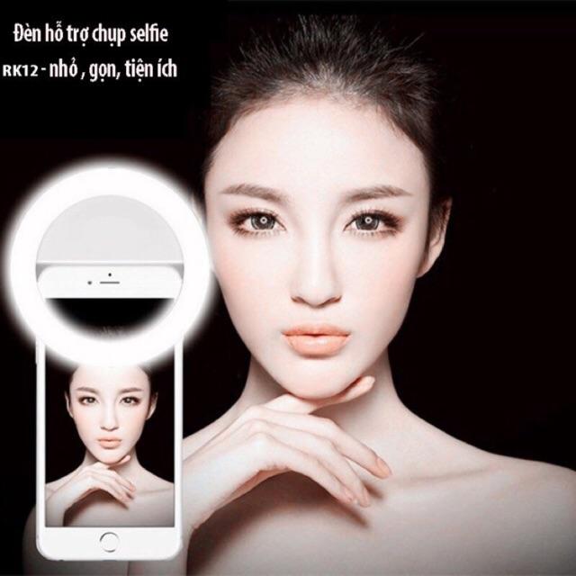 [SALE 10%] Đèn LED hỗ trợ Selfie RK12, chụp hình